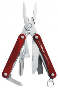 Leatherman Multitool Squirt PS4 Red 831227