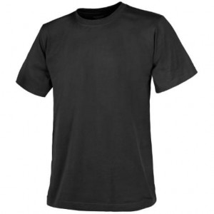 Helikon T-Shirt Cotton Czarny TS-TSH-CO-01