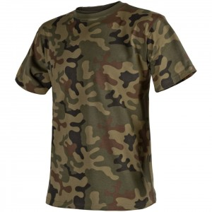 Helikon T-Shirt Cotton PL Woodland TS-TSH-CO-04