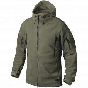 Helikon Bluza PATRIOT Double Fleece Olive Green BL-PAT-HF-02